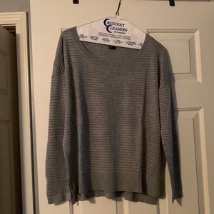 H&M Gray and Silver Light Sweater Sz M